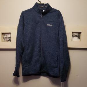 Mens columbia full zip jacket